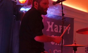 Drummer Axel Kretschmer Live Delmenhorst