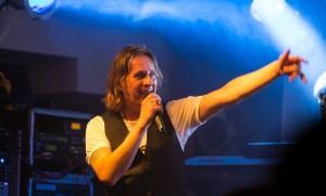 Sänger Frank Dziemba bei Grothenn in Bremen